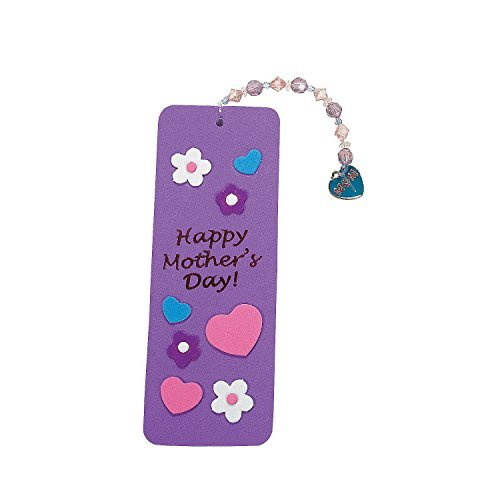 Other kids 39 arts crafts 1 dozen beaded happy mother 39 s for Mother s day craft kits