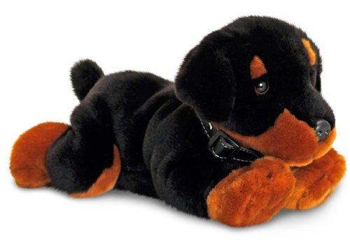 Keel Toys Plüschtier Hund Puppy schwarz, Kuscheltier