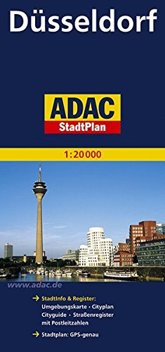ADAC-StadtPlan-Dsseldorf-120-000-ADAC-Stadtplne