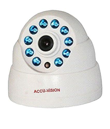 Accu Vision UC-HLS080C-SB Indoor IR Dome CCTV Camera