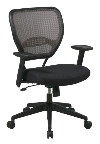 Office Star Latte Air Grid Back Deluxe Task Chair