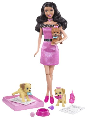 Barbie Potty Training Pups (African-American)