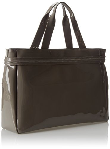 Armani Jeans 55 Patent East West Tote with Crystal Shoulder Bag jeans west jeans west 21999 01