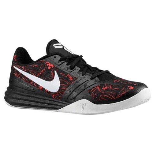 nike KB kobe mentalità scarpe ginnastica pallacanestro 704942 scarpe da tennis - luminoso cremisi bianco black 600, Uomo, 7 UK / 41 EU / 8 US