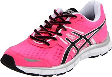 ASICS Women's GEL-Blur33 Running Shoe,Neon Pink/Black/White,9 M US
