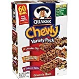 Quaker Chewy Granola Bars Sixty Bar Variety Pack