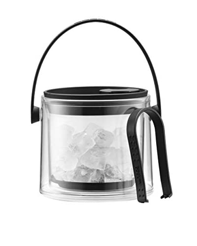 Bodum Cool Black 51-Oz. Ice Bucket with Tongs
