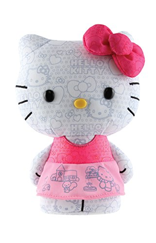 Hello Kitty Color Me Kitty Small Coloring Book Plush - 1