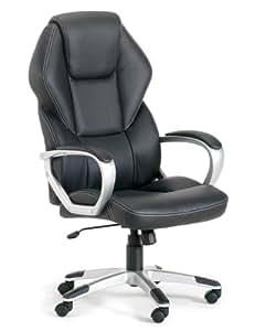 Easychair 4260192769116 XXL Chefsessel Detroit, schwarz