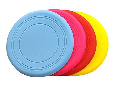 genluna-durable-silicone-flying-disc-dog-outdoor-training-fetch-toy-frisbee-3-pack-3pcs-free-random