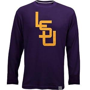 LSU Tigers Vault Long Sleeve Thermal Shirt - Purple by Nike