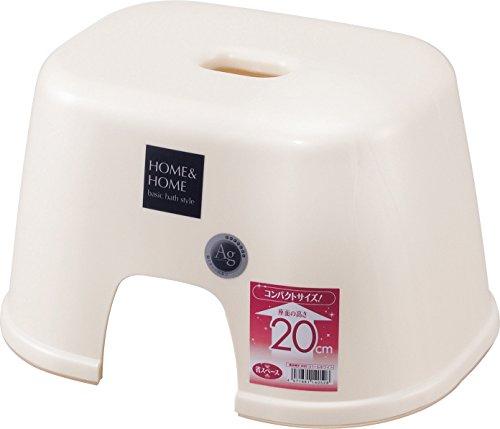 リス 銀イオン抗菌・防カビ H&H Ag 風呂椅子 200 パールホワイト