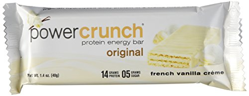 Power Crunch Protein Energy Bar Orignal, French Vanilla Creme, 1.4-Ounce Bar (Pack of 12) (Protein And Energy compare prices)
