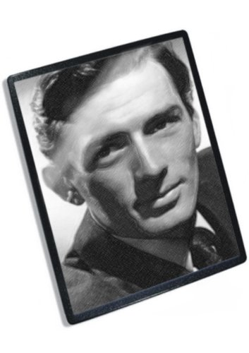 gregory-peck-original-art-mouse-mat-signed-by-the-artist-js002