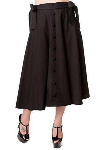 Banned-Buttons-Long-Skirt