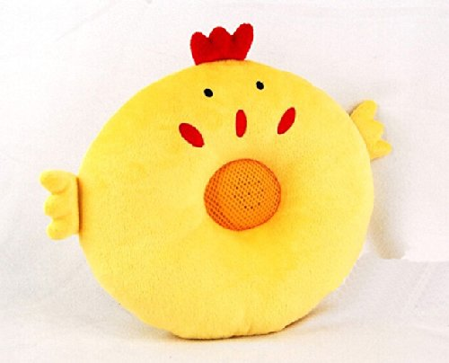 Cartoon Animal Yellow Chick Design Therapy Music Speaker Sound Asleep Sleeping Pillow W/ 3.5Mm Plug
