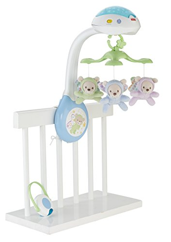 Fisher-Price - Móvil con ositos (Mattel CDN41)