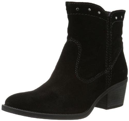 Tamaris Womens TAMARIS Cowboy Boots Black Schwarz (BLACK 001) Size: 7 (41 EU)