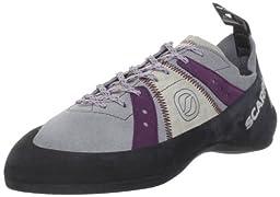 Scarpa Women\'s Helix Climbing Shoe,Pewter/Plum,41 EU/9 M US