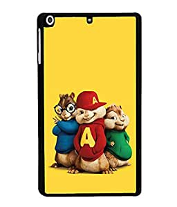 printtech Funny Cartoon Squirrel Back Case Cover for Apple iPad Mini 3