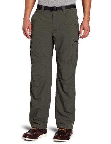 Columbia Men's Silver Ridge Cargo Pant, Gravel, 38x34 Columbia Climbing Shorts