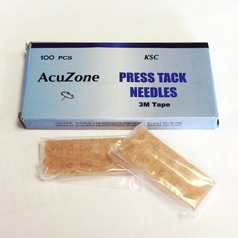 Acuzone Press Tack Needles (100pcs per box)