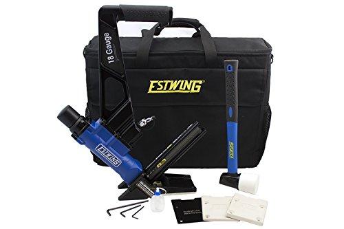 Estwing ef18glcn 18 gauge l cleat pneumatic flooring for 18 gauge floor nailer