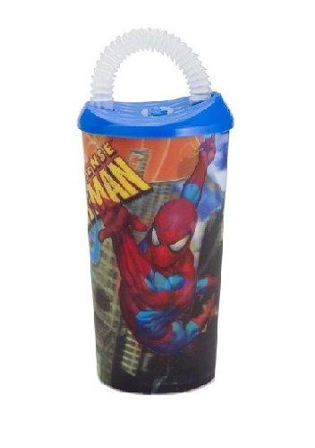 Spider-Man 17 Oz. Classic Optix Fun Sip front-987251