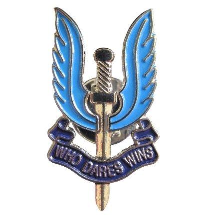 military-sas-who-dares-wins-badge-blue-enamel-pin