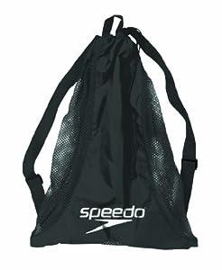 Speedo Deluxe Mesh Equipment Bag, Black