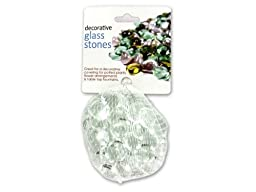 Decorative glass stones-Pack-48-Pack