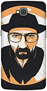 The Racoon Lean The One who Knocks hard plastic printed back case / cover for LG G Pro Lite