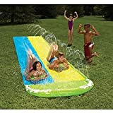 Wham-o Slip N Slide Wave Rider Double With 2 Slide Boogies – $16.13!