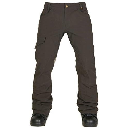 15-16 スノーボードウェア ウエア メンズ 2016 ( 686 ) PARKLAN SHADOW PANT L5W204 パンツ スキー スノボー (CoffeeRipstop, Lサイズ)