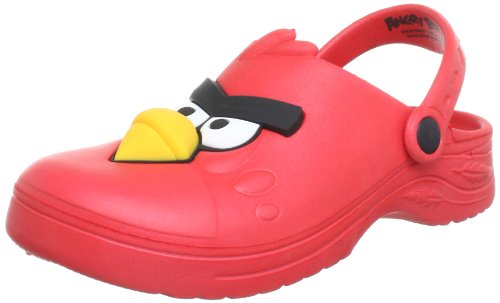 Angry Birds lightweight Clogs And Mules Boys multi-coloured Mehrfarbig (red RED) Size: 1 (33 EU)