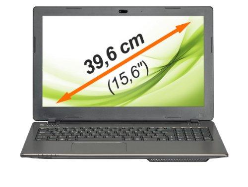 MEDION AKOYA E6239 (MD98889) 39,6 cm (15,6 Zoll) Notebook (Intel Celeron N2930, 1.83 GHz, 8GB RAM, 1TB HDD, Win 8.1) silber