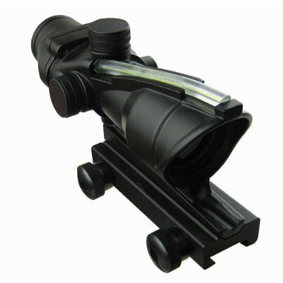 1x30 True Fiber Optic Green dot sight sighting system