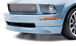 3dCarbon 2005-2009 Mustang V6 Front Air Dam (painted: Black - UA)