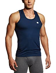 RUPA Frontline Men's Cotton Vest (890397845104 (FRONTLINE-Navy Blue-75)