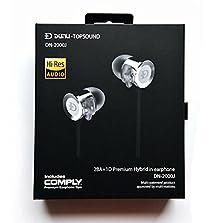 buy Beteran Topsonic Dunu Dn2000J Premium Hybrid 3 Way Triple-Driver Iems Moving Coil Balanced Armature Noise Cancelling Deep Bass Hifi Monitors Dj Studio Stereo Music In-Ear Earphones Headphone