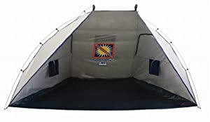 Rio Beach Total Sun Block Shelter Tent (Silver) by Rio Brands
