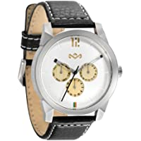 House of Marley Billet Leather Men's Stylish Watch - Iron / One Size