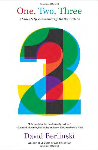 One, Two, Three: Absolutely Elementary Mathematics (Vintage)