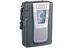 Sony TCM459V Portable Cassette Player/Recorder
