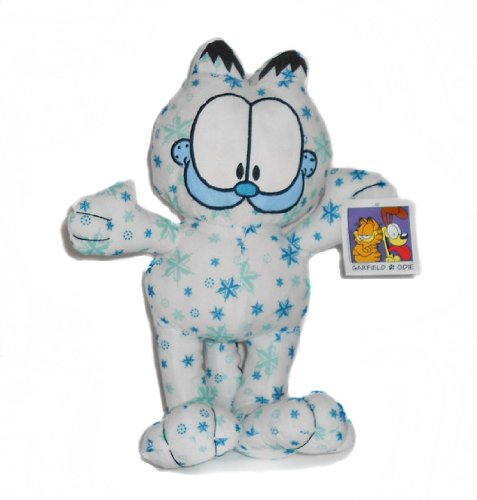Holiday Snowflake Garfield Plush 13 Inch