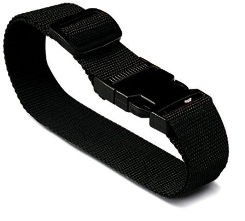 Lewis N. Clark Add-A-Bag Luggage Strap, Black, One Size