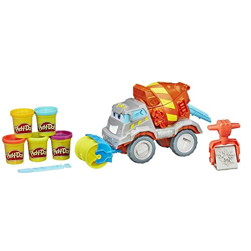 Play-Doh Mason The Cement Mixer Toy