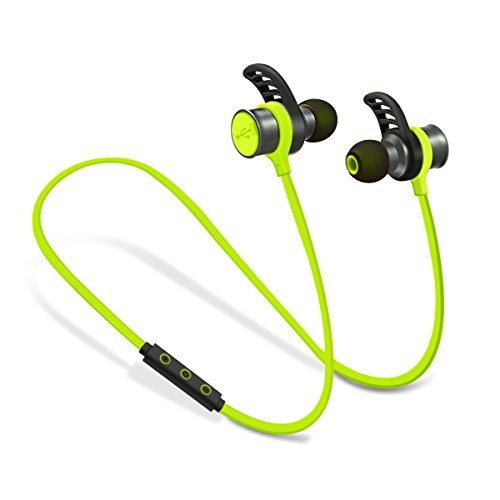 PLAY X STORE Wireless Bluetooth 4.0 Sports Headphone,Stereo Headset With Microphone,Hands-free In-ear Earbuds