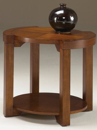 Image of Hammary Principle End Table in Medium Brown (T2041235-00)