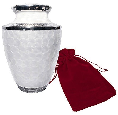 """Everlasting Love"" Human Cremation Urn - Superior Quality Urn To Honor Your Loved One - Beautifully Handmade And Craffted - Urn For Human Ashes - Money Back Guarantee - Includes Velvet Bag"